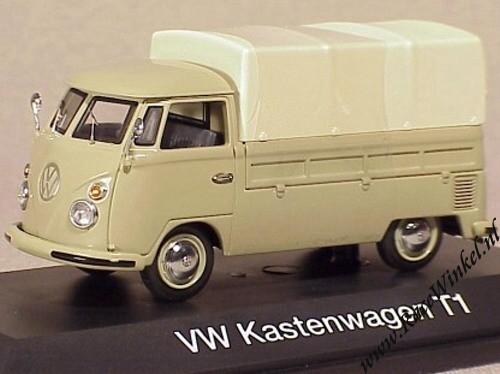 schuco 1 43 diecast schaalmodel volkswagen bus t1 pick up. Black Bedroom Furniture Sets. Home Design Ideas